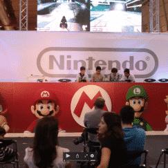 Muita diversão e jogos para jogar em comunidade. No palco Nintendo decorreram desafios de vários jogos do universo Mario, indicados para reunir a malta à volta da televisão, em saudável competição.