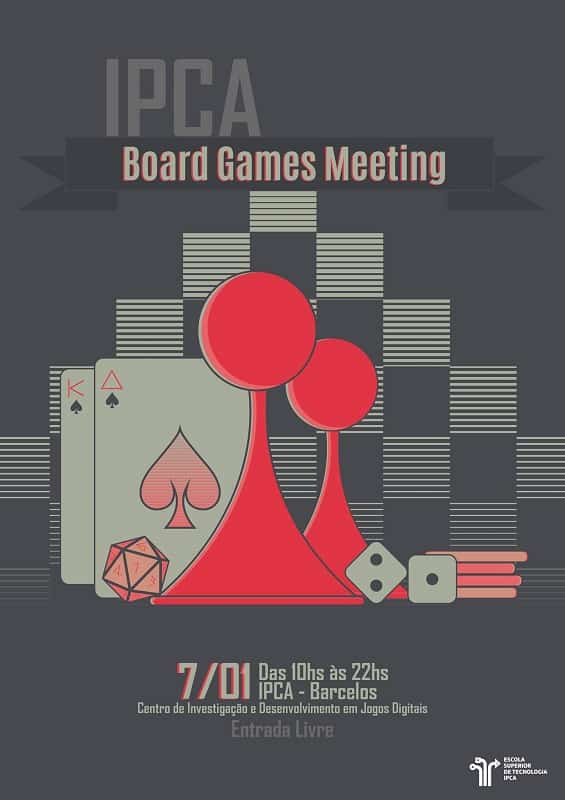 Cartaz_IPCA Board Games Meeting