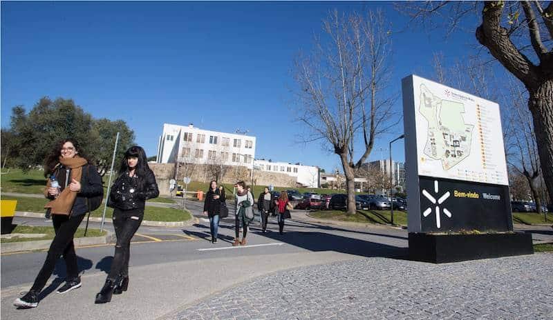 UMinho – entrada do campus de Gualtar, Braga