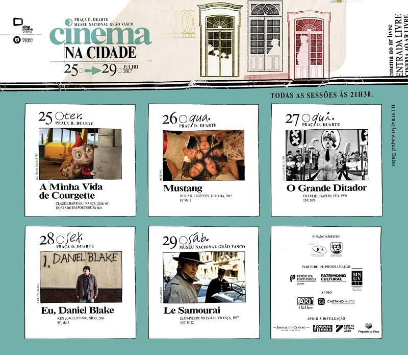 Viseu tem cinema gratuito ao ar livre