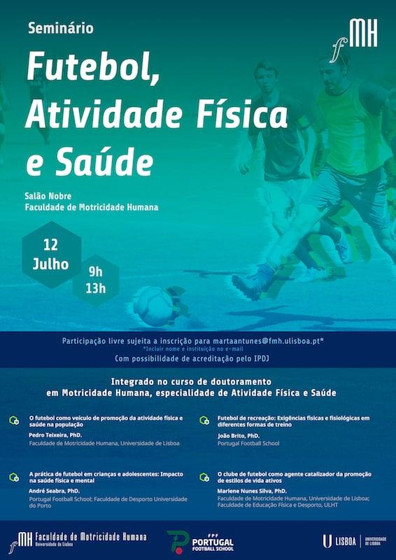 Futebol, Atividade Física e Saúde na FMH