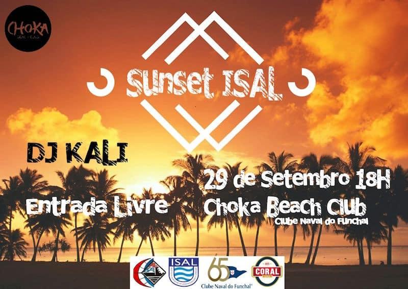 Entrada gratuita no Sunset ISAL na ilha da Madeira