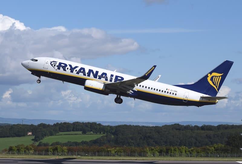 Malas de mão, na Ryanair parece que não
