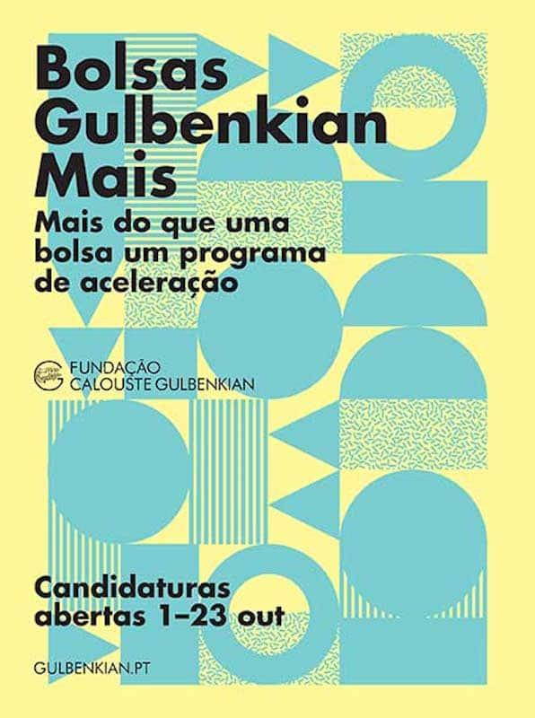 Entraste com boa nota? Toma uma bolsa da Gulbenkian