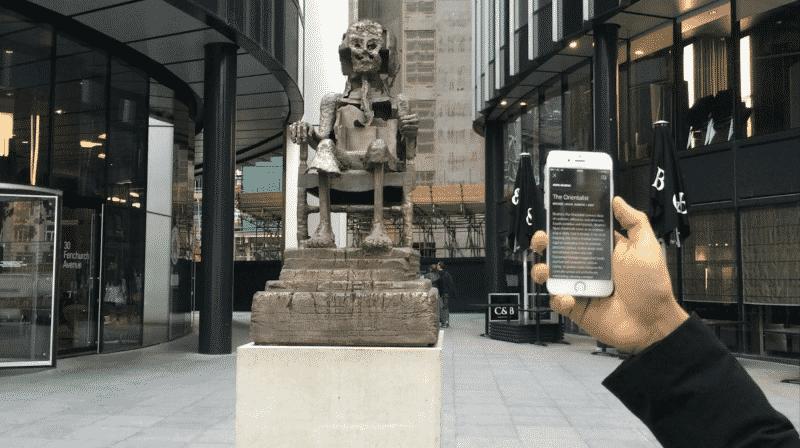 Há uma nova app que é a Shazam dos Museus