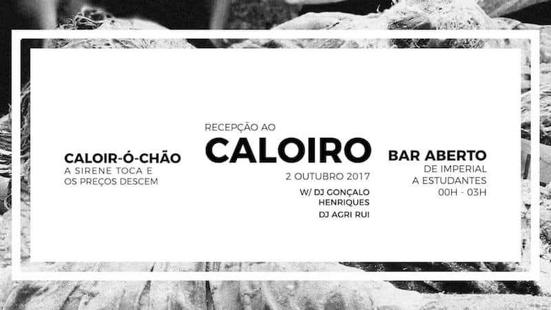 Festa com bar aberto da Receção ao Caloiro de Santarém