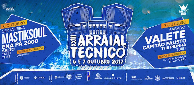 O Arraial do Técnico vai encher a Alameda