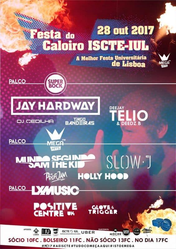 Festa do Caloiro do ISCTE-IUL vai encher 3 palcos
