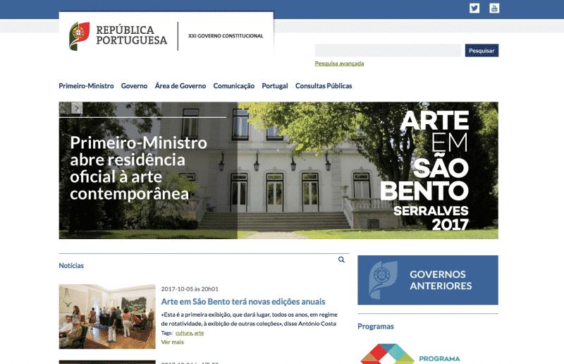 Governo tem um Portal mais user-friendly