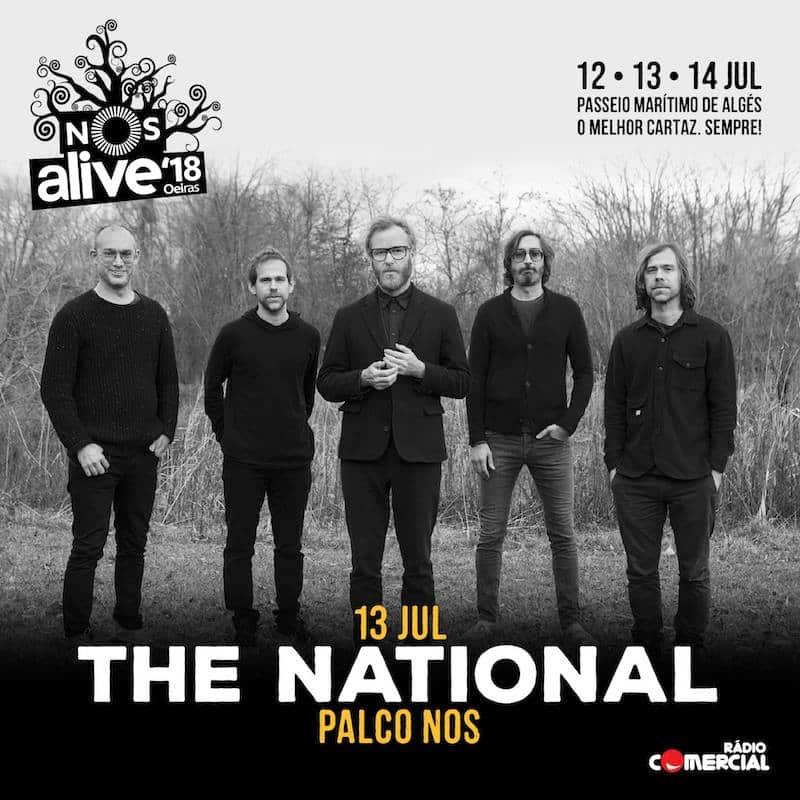 The National são a primeira confirmação do NOS Alive