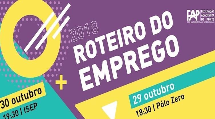 Roteiro do Emprego de volta ao Porto