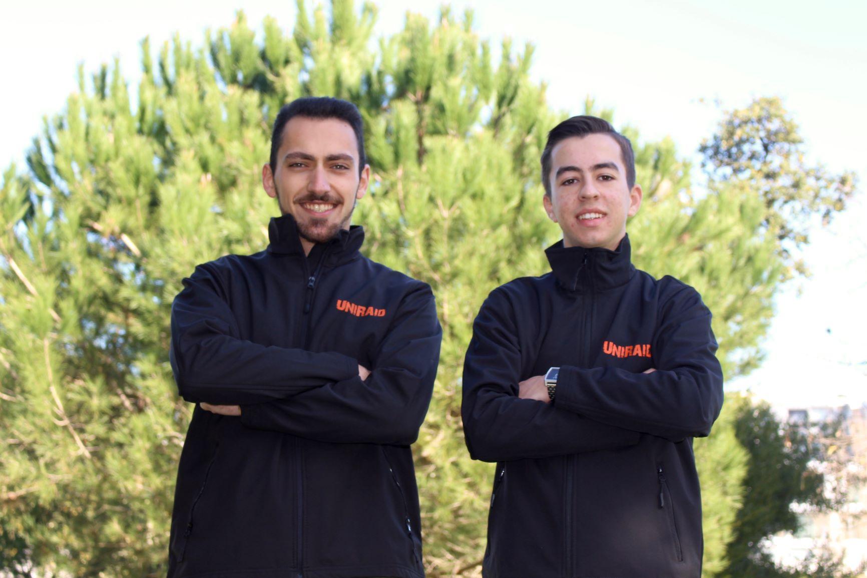Moisés Valentim e Hugo Mendes